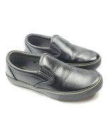 TredSafe Oil and Slip-Resistant Shoes Black Leather Unisex Lightweight  - $19.24