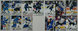 2019-20 Upper Deck UD St. Louis Blues Series 1 & 2 Team Set 13 Hockey Cards - $7.99