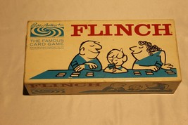 Vintage Parker Bros. Flinch 1963 Card Game complete with Tray Exc. Cond. - $14.85