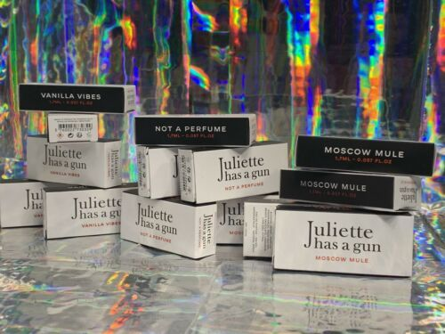 BNIB PICK Your Scent JULIETTE HAS A GUN Moscow Mule Vanilla Vibes Not A Perfume