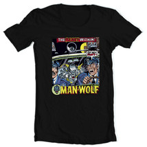 Man-Wolf T Shirt retro 1970s Marvel Comics graphic tee Creatures on the Loose image 1