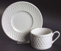Oneida Wicker Cup & Saucer New! - $14.84