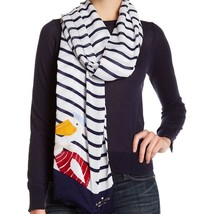 Kate Spade New York Scarf Percy Stripe NEW - $57.42
