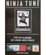"Ninja Tune ""Classic"" 11 x 17 record store music promo poster - $4.95"