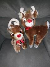 Vintage Applause Rudolph Plush Lot - $11.40