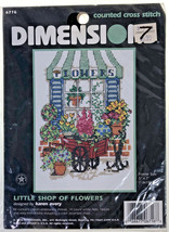 Dimensions Flower Shop Stitch Kit - $15.40
