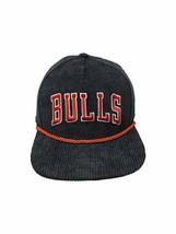 New Era Chicago Bulls NBA 9Fifty Snapback Hat Straight Brim Cap 950 CORD... - $26.14