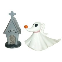 Nightmare Before Christmas Zero and Dog House Ceramic Salt and Pepper Sh... - $17.41