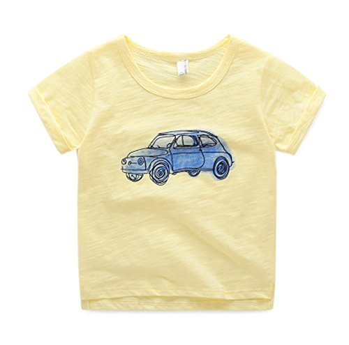 Stylish Kids Wild Short-sleeved Shirts Infant/Toddler Lovely T-Shirt