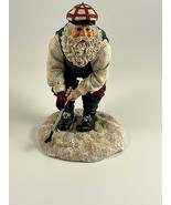 "Golfing Santa -- CBK Limited 5"" Tall Santa Christmas Golf Resin Fore! - $8.86"