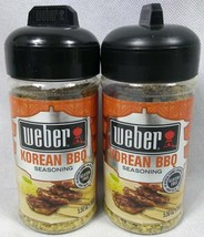 2 Weber Korean BBQ Grilling Seasoning 5.5 Oz Each Exp 1/2021 - $16.78