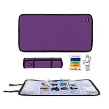 Teamoy Travel Cable Organizer, Cord Bag/USB Drive Shuttle Case/Electronics Acces