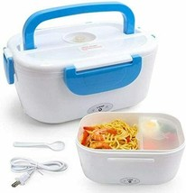 Electric Lunch Box Portable Model YY 3166 Blue 110 V   - $24.69