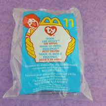 TY Teenie Beanie Baby Nook Husky Toy Animal 1998 McDonalds #11 - $7.92