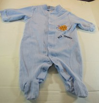 Boy baby Footed one peice child of mine blue - $5.16
