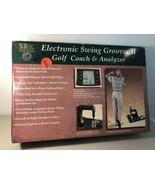 CLUB CHAMP ELECTRONIC SWING GROOVER II GOLF COACH & ANALYZER Nice!!! - $69.30