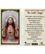 3 Popular Prayer Cards The Lords Prayer, Our Lady of America, Act of Con... - $3.99