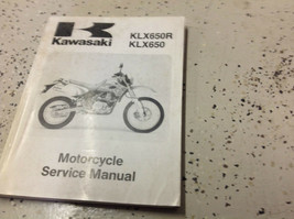 1993  KAWASAKI KLX650R KLX650 Service Repair Shop Manual OEM BOOK - $89.09