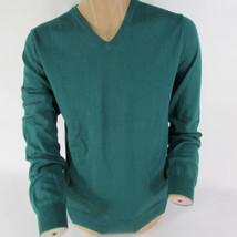 Neu J.Mannschaft Männer 100% Cotton V-Ausschnitt Grün Rot Langärmlig Mode - $42.94