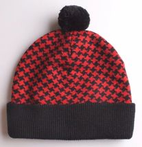 Ten 10 Deep New York The Mighty Tenth Division Houndstooth Pom Beanie Knit Cap image 3