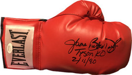 """James """"Buster"""" Douglas signed Everlast Right Red Boxing Glove (full sig) Tyson K - $78.95"""