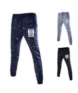 Men Fashion Printed Long Pants Men Hip Pop Style Long Pants Men Casual Pants - $30.60
