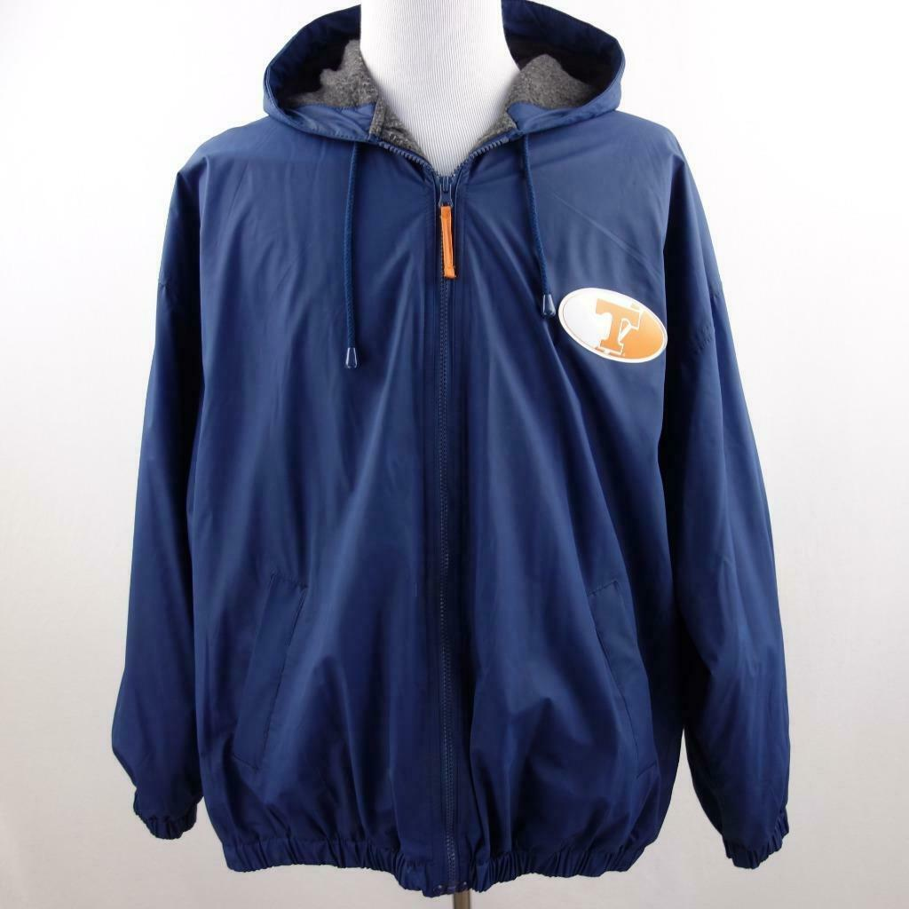 Primary image for University of Tennessee Logo Hooded Windbreaker Jacket Sz XL