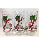 Holly Hobbie Christmas is Love with Trimmings Drinking Glass Coca Cola 3... - $14.50