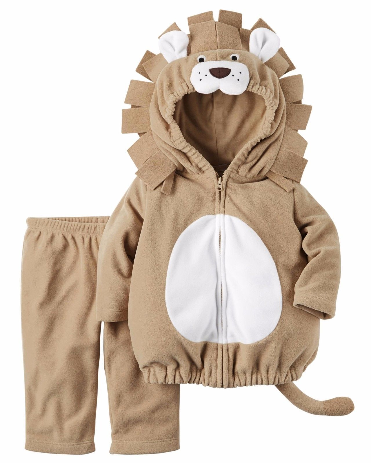 NEW NWT Carters Girls or Boys Lion Halloween Costume Size 6-9 Months