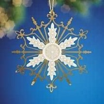 Lenox Glittler and Gold Snowflake - $36.00