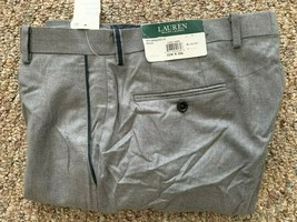 Polo Ralph Lauren Men's Wool Natural Stretch Dress Pant, Size 32X30, MSRP $140 - $66.61