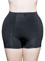 BRAND NEW WOMEN'S FULLNESS BUTT HIP PADDED ENHANCER SHAPEWEAR PANTY BLACK 8019 image 1
