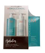 Moroccanoil Hydrating Shampoo & Conditioner 16.9 OZ Each & Original Trea... - $148.33