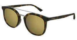 Gucci GG0403SA-002 Havana Brown Acetate Frame Brown Lens 52mm Sunglasses - $195.02