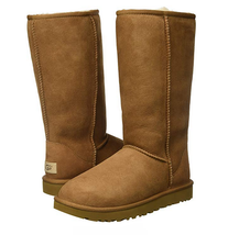 UGG Women's Classic Tall II Winter Boot, Chestnut, Sz 9 - $128.69