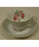 Noritake 5049 Vintage Tea Cup & Saucer Chipped 5 1/2in x 5 1/2in x 3in C... - $20.90