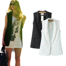Sleeveless Blazer Jacket - $39.99+