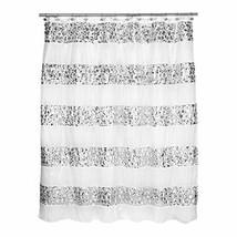 Popular Bath Shower Curtain, Sinatra Collection, White - $30.07