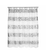 Popular Bath Shower Curtain, Sinatra Collection, White - $30.17