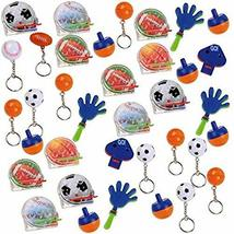 """Amscan Sports Value Mix Supply, Multicolor, 12 x 8 1/4"""", 48ct Party Favors, Pack - $4.99"""