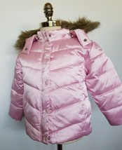Tommy Hilfiger Girls Down Coat Jacket Pink Size 4T NWT - $59.99