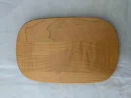 "Longaberger Woodcraft Lid Small Oval Shape 6"" x 3-3/4"" with 3"" Lip - $10.39"