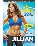 JILLIAN MICHAELS 6 WEEK SIX PACK ABS EXERCISE DVD NEW SEALED WORKOUT FIT... - $13.54