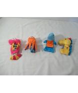 Carters plush finger puppet lot sea ocean creatures dolphin octopus shri... - $9.89