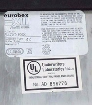 EUROBEX 5400 ESS PANEL BOX ENCLOSURE WITH BACK PLATE image 2