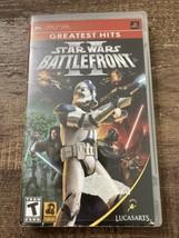 Star Wars: Battlefront II (Sony PSP, 2005) - $10.84