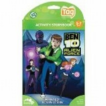 Leap Frog Tag Ben 10 Alien Force activity storybook NEW - $9.85