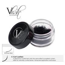 VLash C Curl Jar Lashes / .15mm thick - $25.50