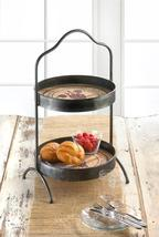 Vineyard 2-Tier Standing Tray - Free Shipping   - $65.23