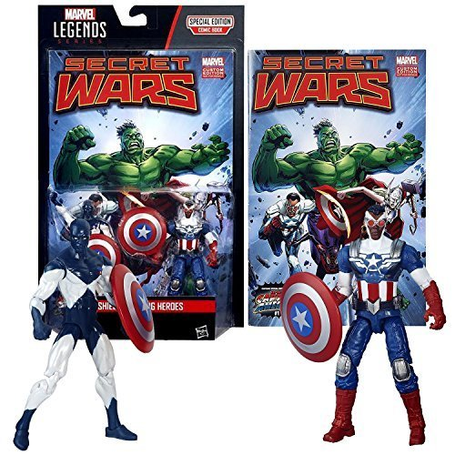 Hasbro Year 2015 Marvel Legends Comic Book Series 2 Pack 4 Inch Tall Figure - SH
